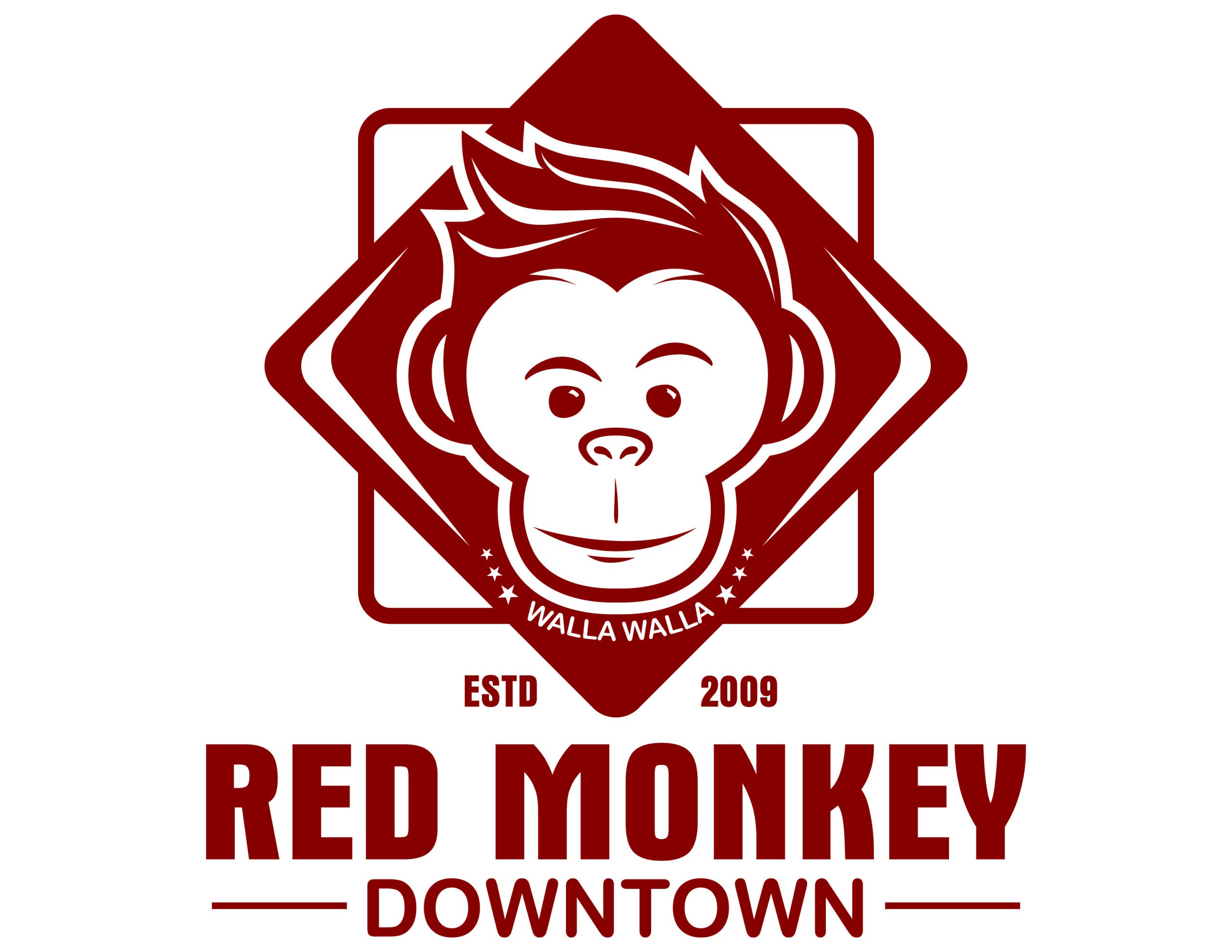 red monkay downtown walla walla background